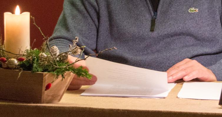 Nikolausfeier mit Lesung im Krematorium Schwarzenborn