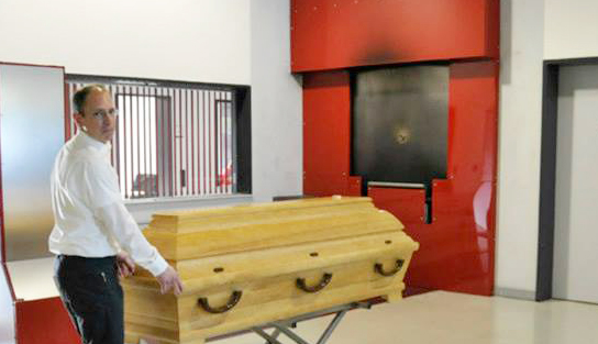 Der Tod ist nicht tabu - Krematoriumsführung